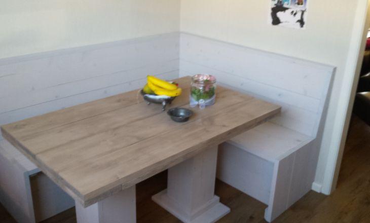 Uw steigerhouten meubelen laat u maken door decorate with for Steigerhout eethoek